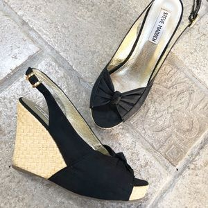Steve Madden Cerona Wedge Sandals 6.5